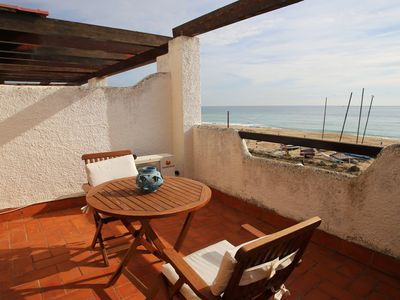 Photo for AT034 PLATJA CREIXELL: Very well equipped house on the beachfront
