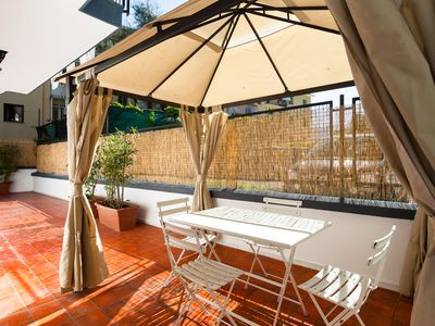 Photo for Central Sorrento Recently Renovated 2BR flat 2 bathrooms equipped terrace WiFi.