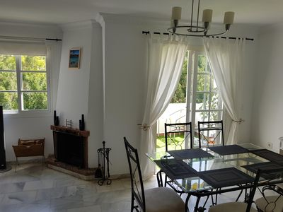 Photo for Room in full plant, pool, parking, 2nd line beach, large terrace