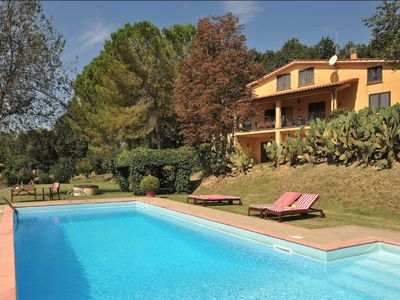 Photo for La Viridiana - Countryhouse with private pool in a peacefull landscape