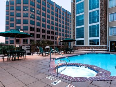 Photo for Free Breakfast + Outdoor Pool | Suite with Roll-in Shower Only 15 Minutes from the Riverwalk!
