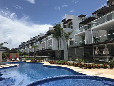Photo for Luxury Ocean View Penthouse in Riviera Maya Resort