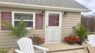 Photo for Private cottage at the entrance of Island Beach State Park