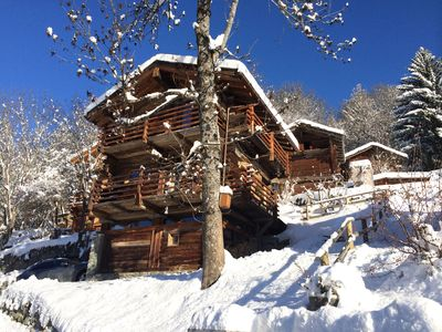 Photo for Idyllic chalet with modern comfort in the region Verbier