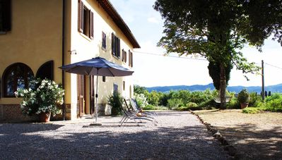 Photo for Tuscan Villa with Panoramic View - near Florence, Siena & Arezzo