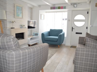 Photo for Betty's Cottage St Ives. Grade II listed perfect getaway with secure parking.