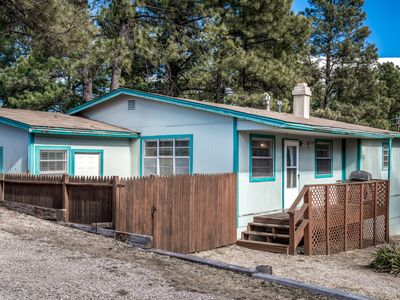 Photo for Cabin near Downtown w/ WiFi, Fireplace, Grill, LCDTV, Hot Tub & Gameroom