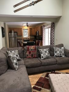 Photo for Conway Escape.   3 bedroom duplex with private deck close to everything!