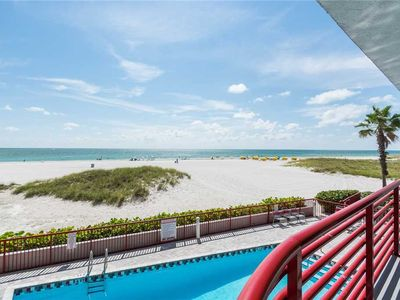 Photo for Luxury Direct Beach Front 1400sq ft. Perfect Vacation Spot! Hot tub & Pool - Free Wifi