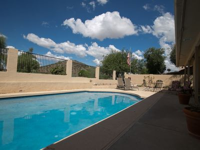 Photo for Peaceful Living in Ahwatukee Foothills: Remodeled