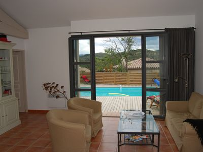 Photo for Luxury Villa with Private Pool in Wine Area, AC, WiFi + Internet