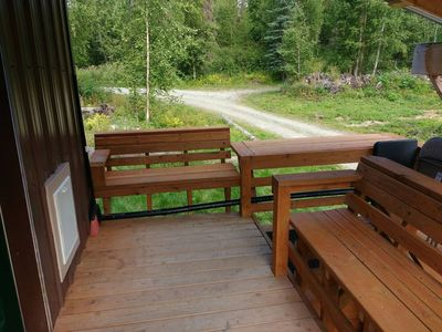 Photo for A real Alaskan offgrid cabin experience