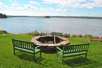 Beautiful Full Stone Masonry Firepit