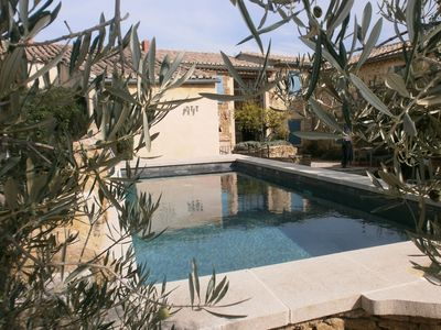 Photo for Charming rental in Drôme Provençale for 6, 8, 12 people