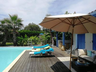 Photo for Quiet romantic villa, 12min from the mother and 6min from the city center