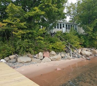 Photo for Madeline Island Cabin on the Shore of Lake Superior - BAYSIDE