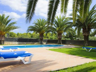 Photo for Portopetro Villa, Sleeps 8 with Pool, Air Con and WiFi