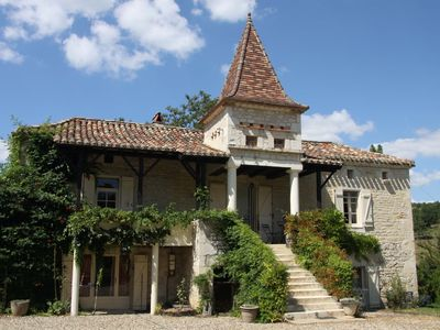 Photo for 'Le Grenetier' is an authentic renovated farmhouse from 1867.