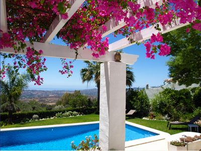 Photo for New Andalusia, Mijas, Beautiful Villa 6 pers. Impregnable Sea View, Pool