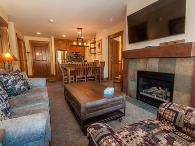 Photo for Updated River Run Condo, Master Suite w/King Bed, Mountain Views, Free WIFI
