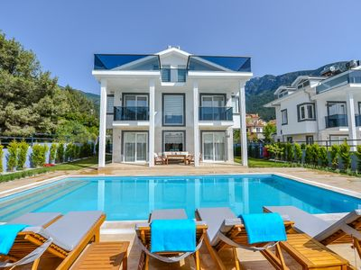 Photo for 4 bedroom luxury villa sardunya in ölüdeniz fethiye