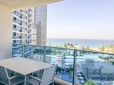 Photo for Ocean View!!! Hilton Surfers Paradise 3BR, FREE Parking and Unlimited WIFI