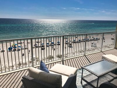Photo for Beautiful Ocean Reef, Low 6th Floor, 6 Beds with Bunks! Free Beach Chairs!