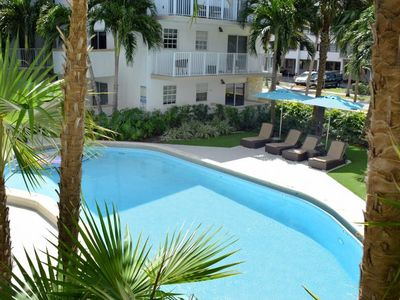 Photo for KEY BISCAYNE GROUP VACAY, FOUR X 2BR/2BA APTS! CLOSE TO THE BEACH! POOL, PARKING