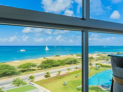 Photo for Azure Beach Residences 3 Bed/3 Bath Suite 180 Degree Views of  Eagle/Palm Beach.