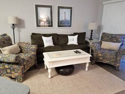 Photo for Completely Remodeled Close to the Beach Townhouse - Minutes from Coligny Plaza!