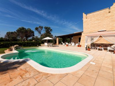 Photo for Sea view with Large Pool and Terrace - Le Vulie