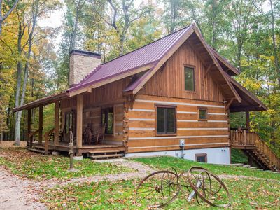 Photo for Two Dogs a Dreamin' Log Cabin