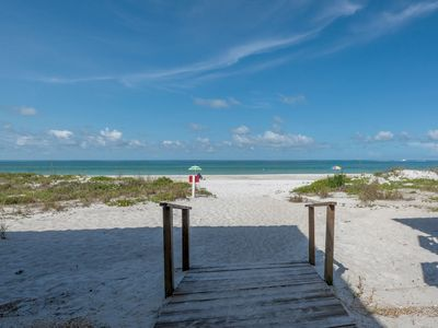 Photo for Direct Beach Access!, Gulf View!, 2 Parking Spaces under unit! and much more!