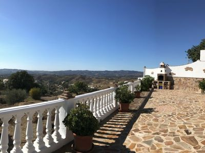 Photo for 4 bedroom Villa, sleeps 7 in Mijas with Pool, Air Con and WiFi