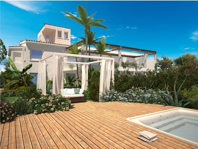 Luxury house with garden and direct access to the beach - Nora