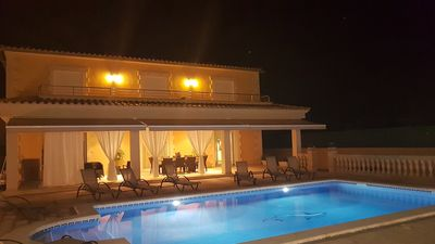 Photo for Fantastic luxury villa in Sa Coma near the beach for 6-12 people