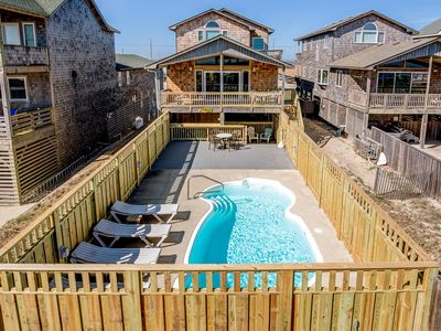 Photo for Sandy Too   Oceanfront   Private Pool   Nags Head