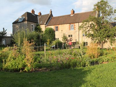 Photo for Stunning Manor House, Giant Party Yurt & Natural Spa Perfect for Hens & Groups