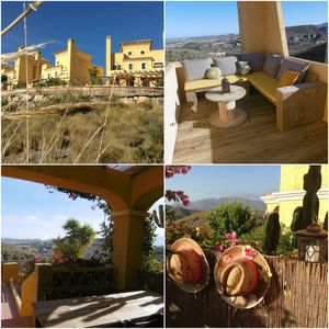 Photo for House Las Colinas with lovely garden, roof terrace with sea- mountain views