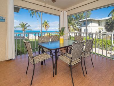 Beautiful 3 BR - Direct Caribbean View!  Lovely New Decor! By CaymanVacation
