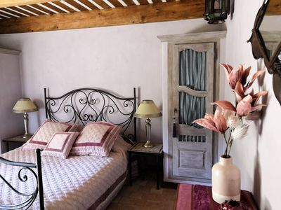 Photo for Bed and Breakfast at the foot of Mont Ventoux in the Provençal Baronnies