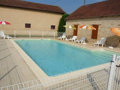Photo for Renovated villa classified 3 *, wifi, pool and garden nearby. caves of Lascaux