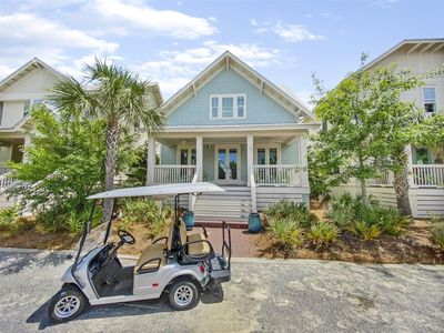 Photo for `The 30 Way` 4 Seater Golf Cart & 4 Bikes Included! Pool, The Hub and Beach Shuttle!