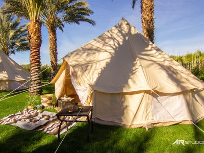 Photo for Festival Campground @ Rancho 51Dategarden Bell Tent Unfurnished