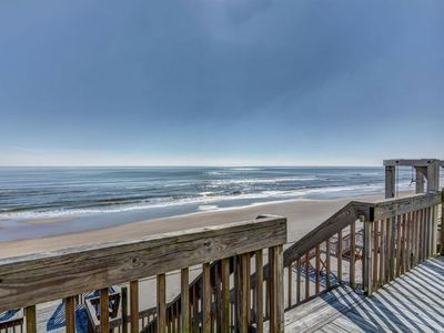 Photo for Oceanfront with direct beach access, private decks, and more!