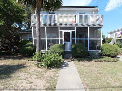 Photo for Beach home in a relaxing location just one block to the beach