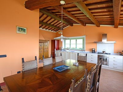 Photo for 5 bedroom Villa, sleeps 10 in Polvano with Pool and WiFi