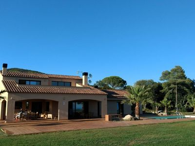 Photo for Relax in the sun in the nature just minutes from the beach and Barcelona