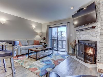 Photo for Epic Savings NOW! Modern Resort Side Perfection. Walk to Slopes & Shuttle + Amenities