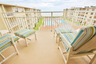 Watch the Waves While Taking in the Florida Sun
